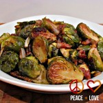 Balsamic Brussels Sprouts with Bacon- Peace Love and Low Carb