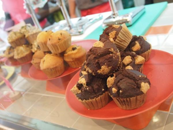 Yummy blueberry muffins Loula Natural
