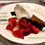 Sweet Potato Chocolate Cake Homemade Mommy