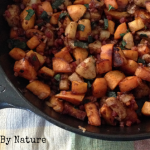 Sweet Potato Apple Pancetta Hash- Gutsy By Nature