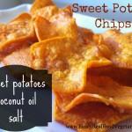 Sweet Potato Chips- Healy Real Food Vegetarian