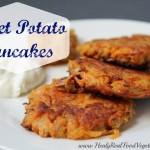 Sweet Potato Pancakes-Healy Real Food Vegetarian