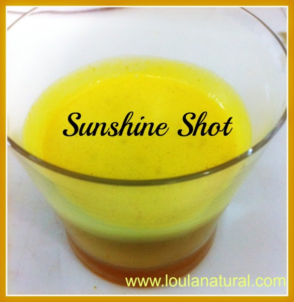 Sunshine shot Loula Natural