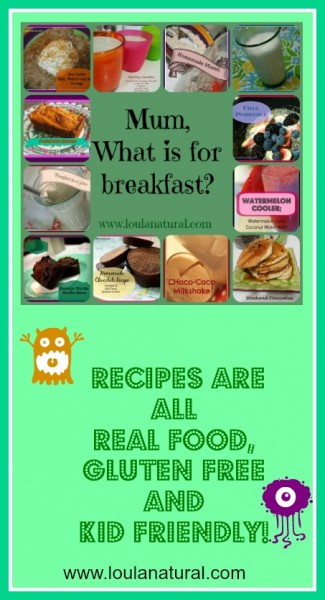 What is for Breakfast Loula NAtural Pin