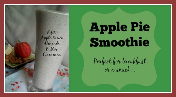 Apple Pie Smoothie Loula Natural fb