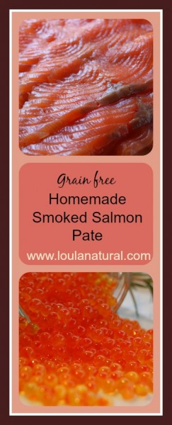 Homemade Smoked Salmon Pate Loula Natural pin