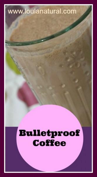 bulletproof coffee Loula Natural pin