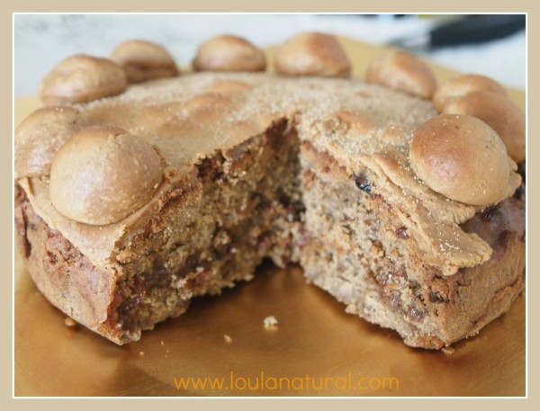 Gluten free Simnel Cake Loula Natural