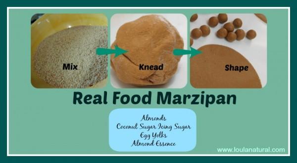 Real Food Marzipan Loula Natural