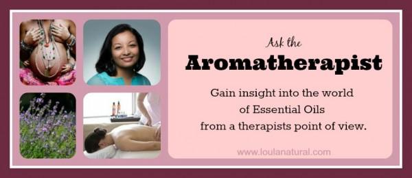 ask the aromatherapist