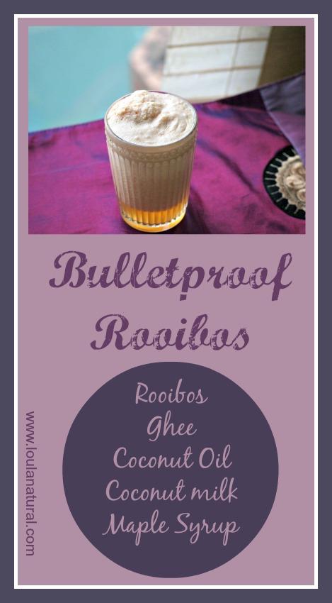 Bulletproof Rooibos Loula Natural Pin