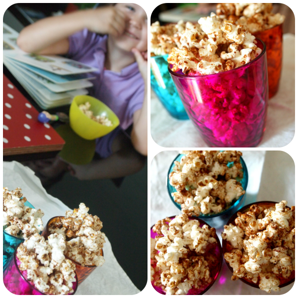Popcorn Collage Loula Natural