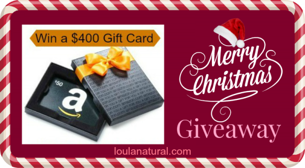 Merry Christmas giveaway Loula Natural