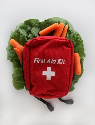 Naturopath's first aid kit