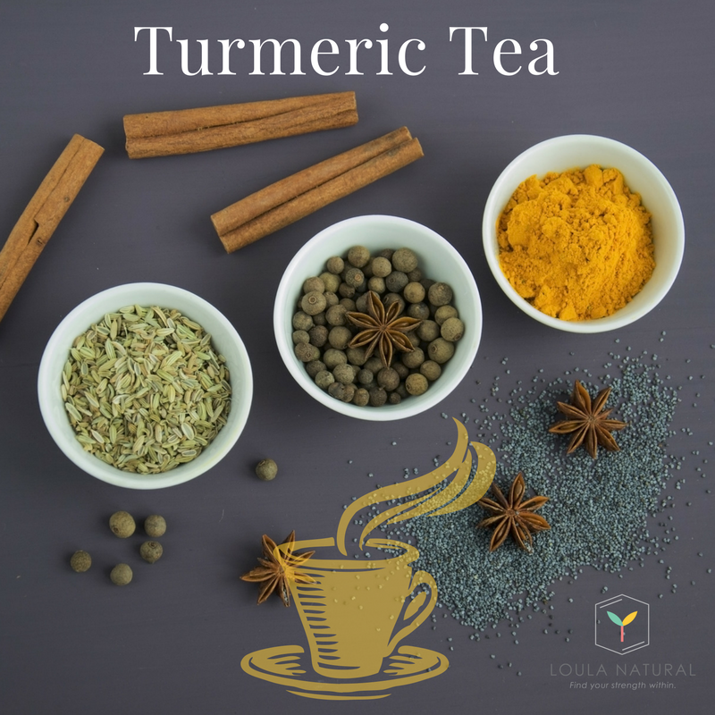 Warming, healing and delicious Turmeric Tea
