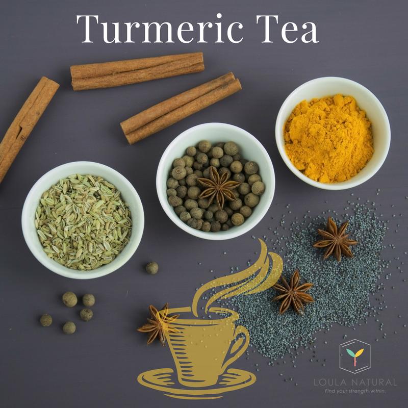 Warming, healing and delicious Turmeric Tea
