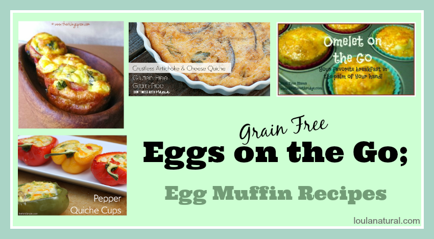 Eggs on the go; Egg Muffins