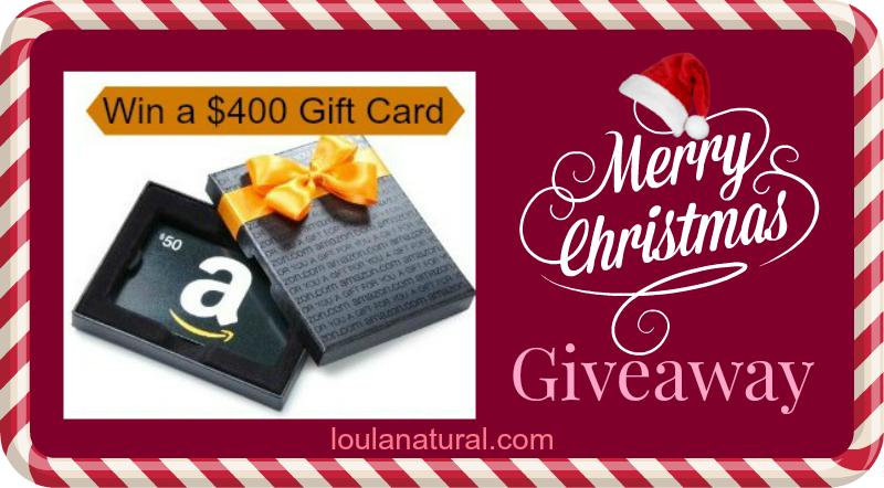 Holiday Giveaway $400 Amazon Giftcard