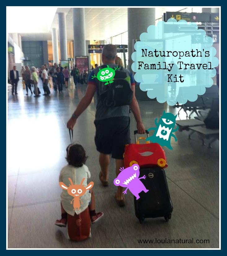 Naturopath's Family Travel Kit