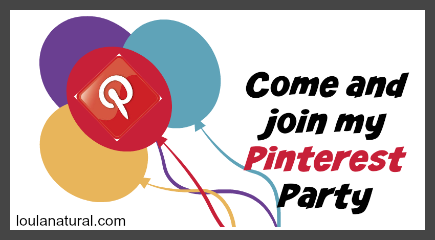 Pinterest Party with Loula Natural